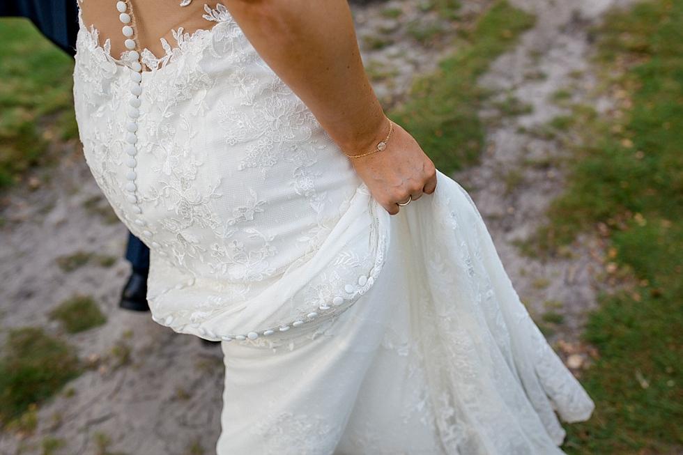 Brautkleid, Spitzenkleid