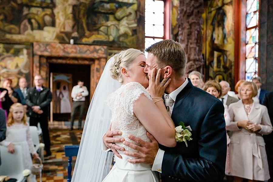 Hochzeit Kunststätte Bossard in Jesteburg, Trauloaction