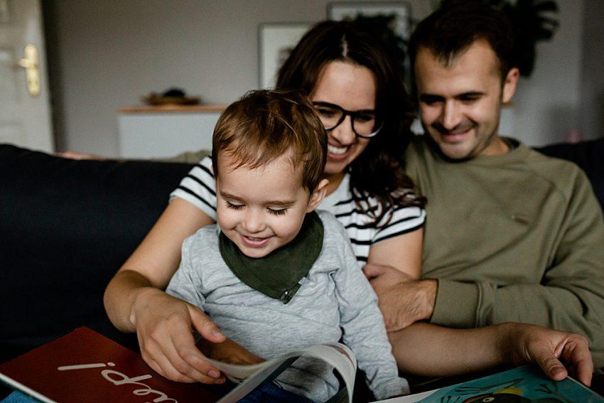 Das große Glück <br /><p>Familienfotografie</p>